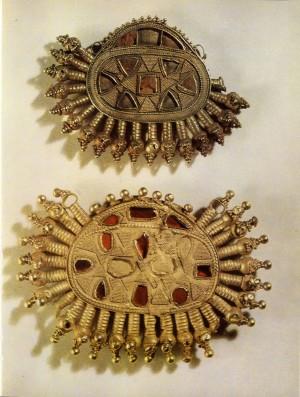 Золотые украшения гуннской эпохи