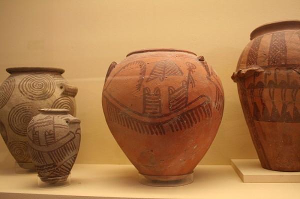 Керамика периода Накада