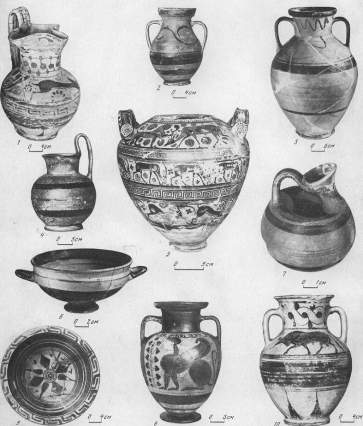 Родосско-ионийская керамика